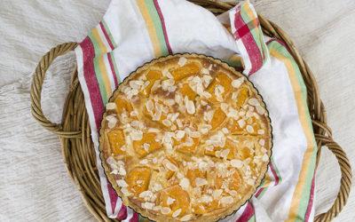 Apricot, Almond & Ricotta Frangipane Tart
