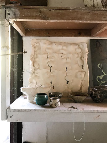 studio shelf
